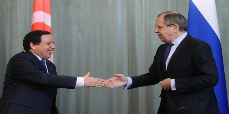 وزير الشؤون الخارجية يلتقي نظيره الروسي في موسكو