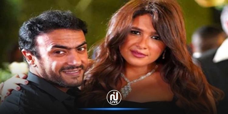 ياسمين عبد العزيز وزوجها أحمد العوضي يصابان بكورونا