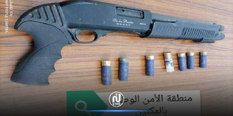 المنستير: حجر سلاح ناري من نوع ''شوتجن'' و 7  خراطيش