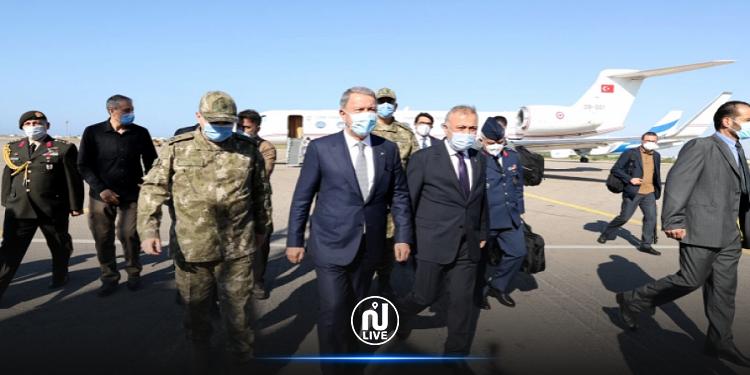 وفد تركي يصل ليبيا في زيارة غير معلنة