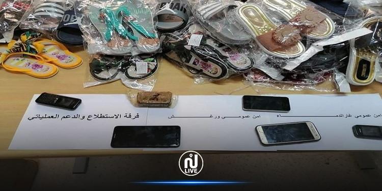 غار الدماء: حجز مواد مهربة بقيمة 60 ألف دينار