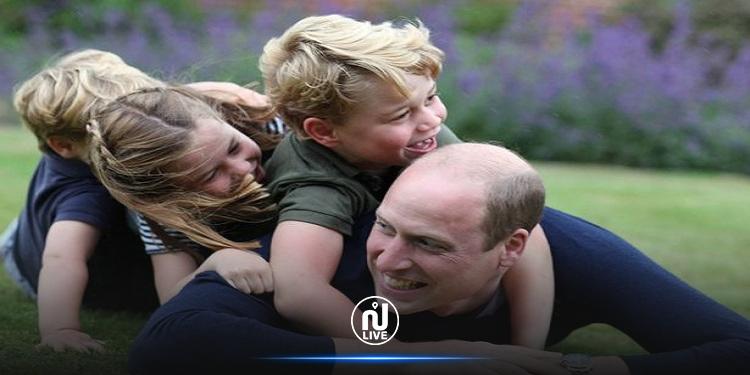 بمناسبة عيد الأب..  الأمير ويليام وكيت ميدلتون ينشران  صوراً رفقة أطفالهما