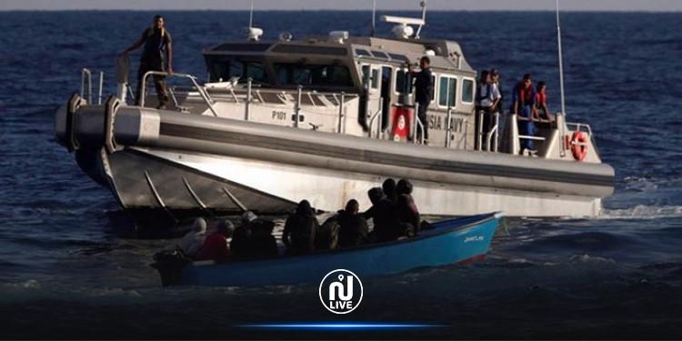 الهوارية : جيش البحر ينقذ 9 مهاجرين تونسيين غير نظاميين