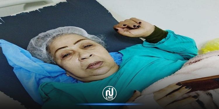 الفنانة المصرية فاطمة كشري  تستغيث وأحمد مكي يَتَكَفّل بعلاجها