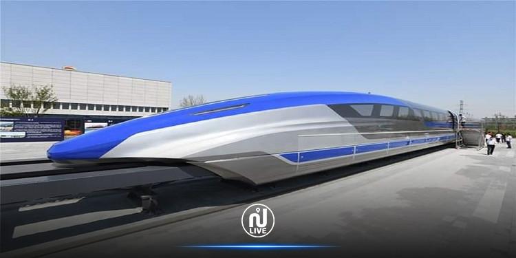 الصين تطلق أول قطار مغناطيسي سريع على مستوى العالم