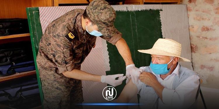 تطاوين : تطعيم أكثر من عشرة الاف شخص من قبل الصحة العسكرية