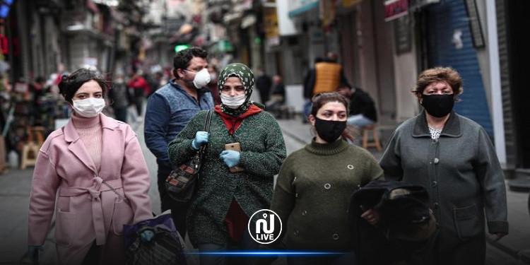 تركيا تسجل أعلى حصيلة يومية للإصابات بكورونا