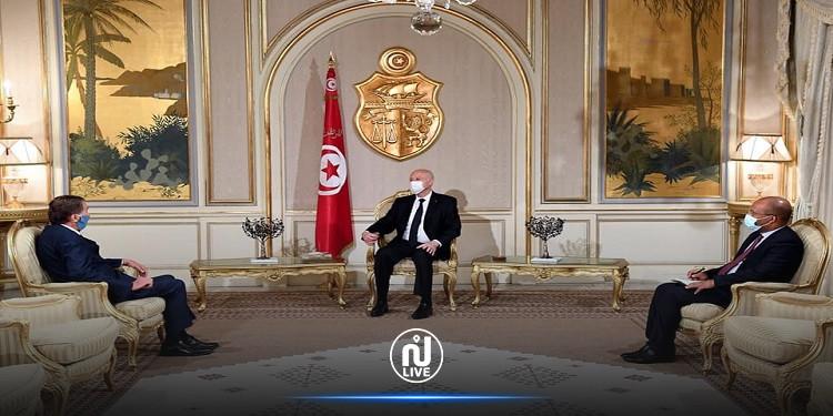 سفيرفلسطين  يعرب عن تضامن بلاده مع تونس في هذا الظرف الصعب