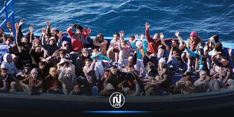مدنين: استكمال عملية نقل المهاجرين غير النظاميين بعد إنقاذهم الى ميناء الكتف