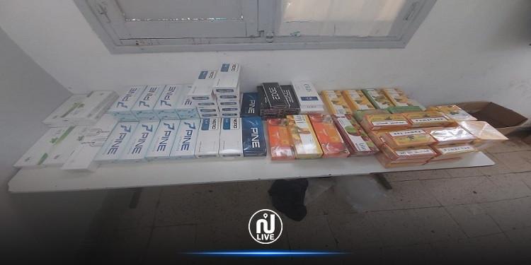 منزل بوزلفة: القبض على 3 أشخاص وحجز أقراص مخدرة وكمية هامة من التبغ