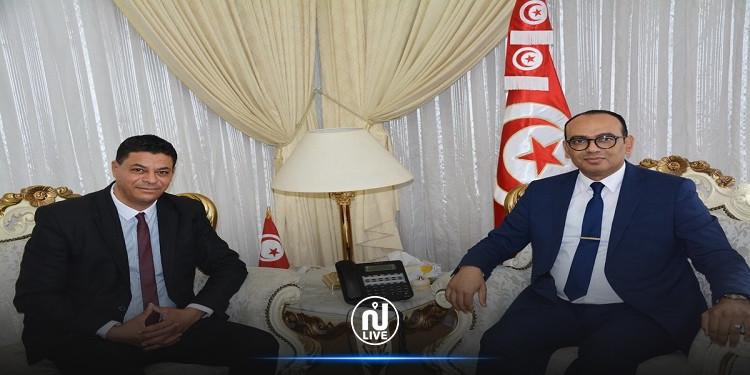 تنظيم الحج .. وزير الشؤون الدينية يلتقي بالرئيس المدير العام لشركة الخدمات الوطنية والاقامات