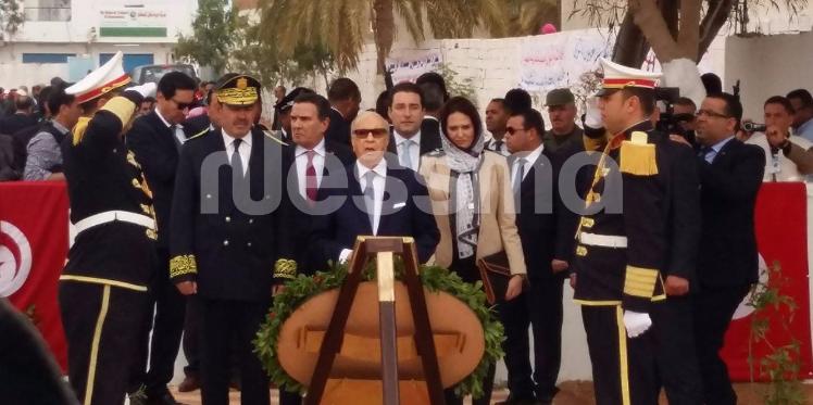 رئيس الجمهورية يتحول الى بن قردان لمواصلة الإحتفالات بعيد الشهداء
