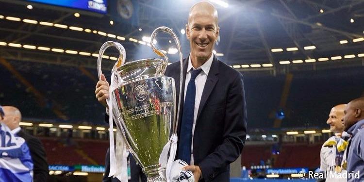 زين الدين زيدان يتوج بلقب كل 15 مباراة مع ريال مدريد