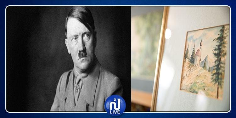 Peintures signées Hitler, vendues aux enchères… Personne n'en veut