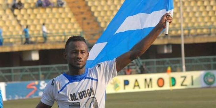 المهاجم النيجيري لفريق إينمبا مفون ايدوه في تونس للتعاقد مع النادي الإفريقي