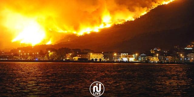 Le Sud de l'Europe en feu