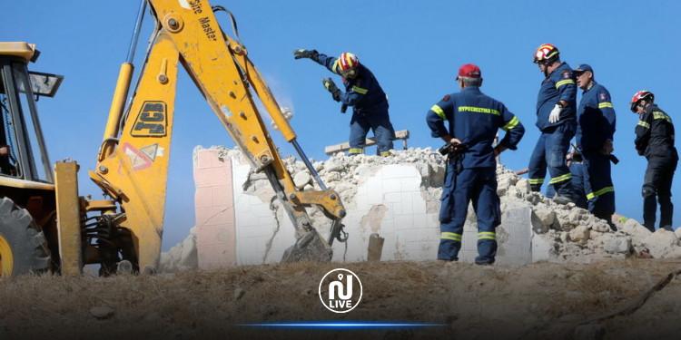 Séisme en Grèce : 1 mort et 9 blessés !