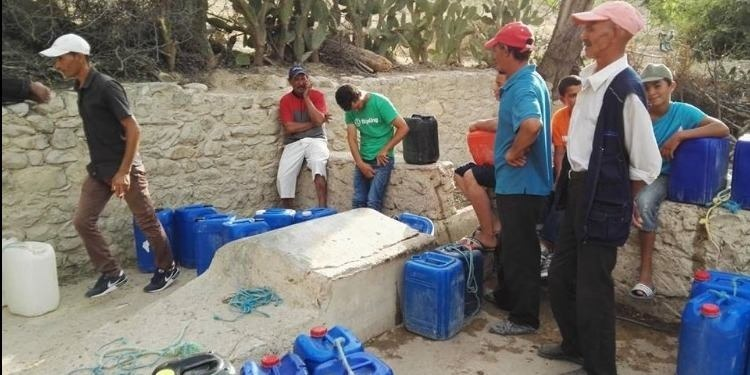 Détresse des naufragés de la soif de Zaghdoud, au sud de Kairouan