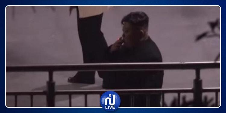 زعيم كوريا الشمالية يوقف القطار ليدخّن سيجارة