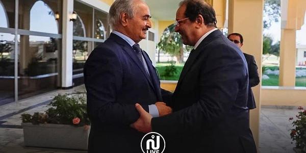 حفتر: دور مصر مهم لإنجاح الجهود السياسية وإعادة الاستقرار في ليبيا