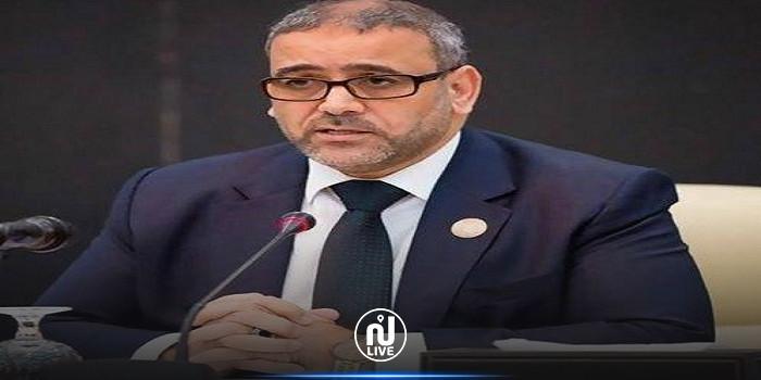 رئيس المجلس الأعلى للدولة في ليبيا : نرفض الانقلابات على الأجسام المنتخبة