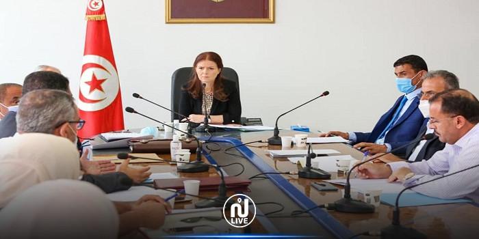 جلسة عمل بين وزيرة الشباب والرياضة ووالي بنزرت لمتابعة المشاريع المعطلة