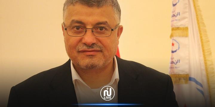 العيادي : نطالب الرئيس بالعودة إلى الدستور وإلى الوضع الديمقراطي الطبيعي