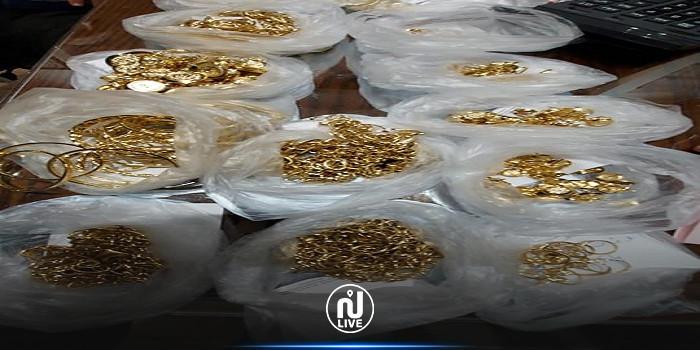 صفاقس : حجز كميات من المصوغ المهرب بقيمة 400 ألف دينار