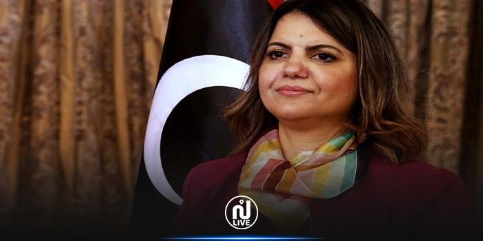 نجلاء المنقوش تعلن عن مبادرة استقرار ليبيا خلال مؤتمر دولي في طرابلس