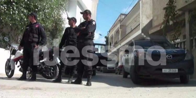 تاجروين : ايقاف 14 مفتش عنهم في حملة أمنية