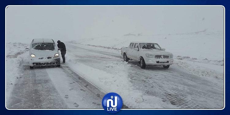 Kasserine: Evacuation de 44 personnes et 3 camions bloqués…