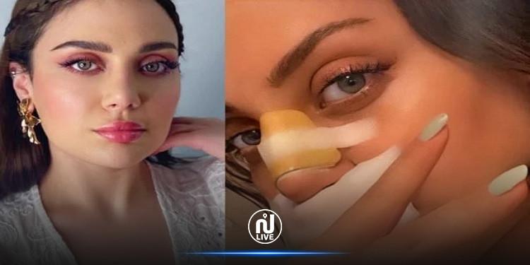 هل شوهت ابنة هيفاء وهبي  أنفها بعد التجميل ؟  (صور)
