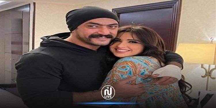 هذا ما فعله  زوج ياسمين عبد العزيز بعد تحسّن حالتها الصحية