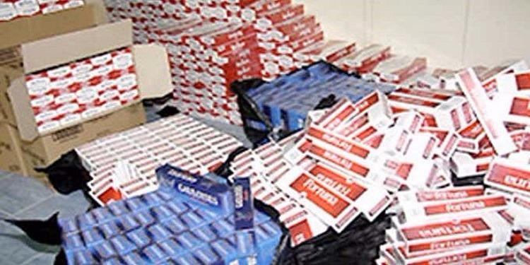 المنستير: حجز 1200 علبة سجائر