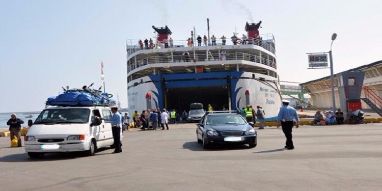 العمل على تقليص مدة المكوث في الميناء عند قدوم أو عودة الجالية التونسية خلال هذه الصائفة