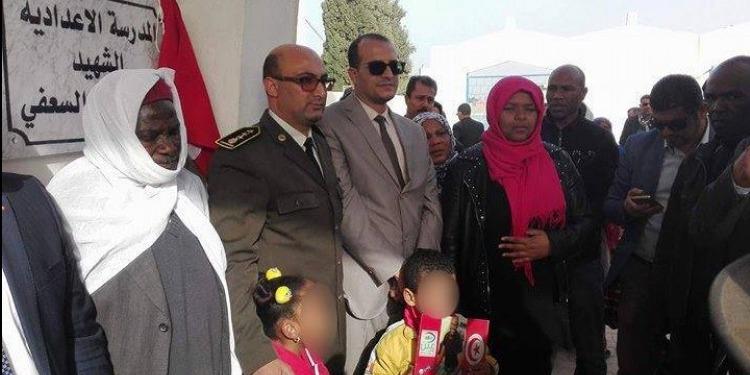 قابس: إطلاق اسم الشهيد عبد السلام السعفي على المدرسة الاعدادية طريق الحامة (صور)