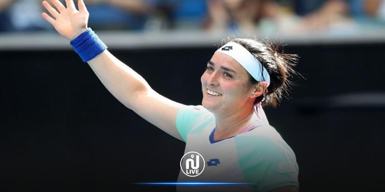انس جابر  في المركز 23 عالميا في التصنيف الجديد للاعبات التنس المحترفات