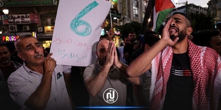 فلسطين: مظاهرات  مساندة  للأسرى الفارين لتشتيت قوات الإحتلال عن ملاحقتهم