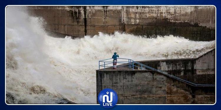 تنفيس سدّ سليانة إثر نزول كميات هامة من الأمطار
