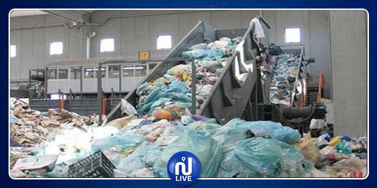 وقفة احتجاجية للمجمع المهني للتنظيف وجمع ونقل ورسكلة النفايات