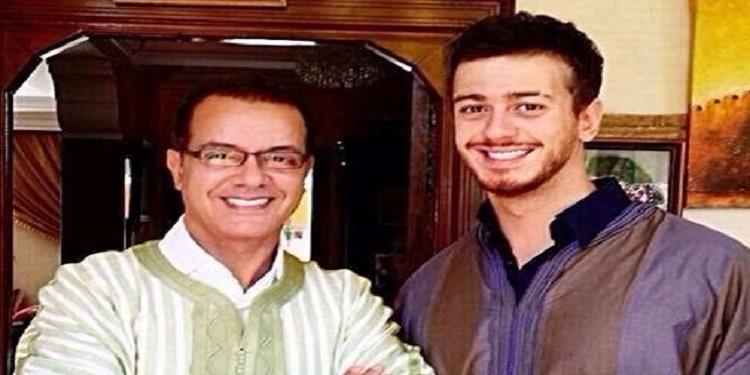 سعد المجرد يشارك والده اغنية جديدة