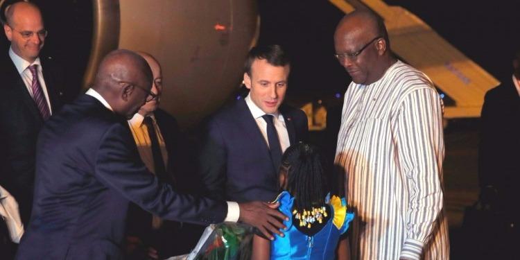 Burkina Faso : Explosion d'une grenade avant l'arrivée de Macron