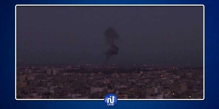 الجيش الصهيوني يقصف تلفزيون الأقصى
