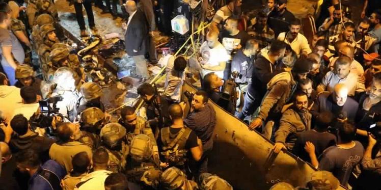 لبنان: عشرات القتلى في تفجيران انتحاريان ببيروت