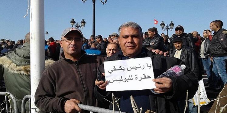 """رئاسة الحكومة: """"لن نرضخ لضغط النقابات الأمنية"""""""