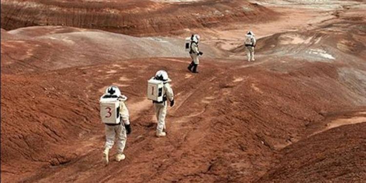 العثور على بركان عظيم فوق سطح المريخ