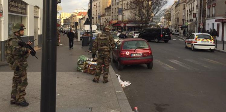 """عاجل: انتهاء العملية الأمنية بضاحية """"سان دونيس"""""""