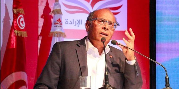 المرزوقي يشكك في نزاهة إنتخابات 2014 خلال إفتتاح مقر حزبه بصفاقس