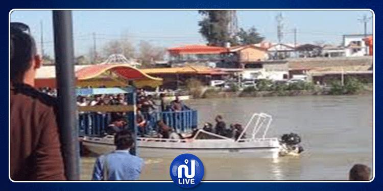 العراق: مقتل 60 شخصا في انقلاب عبّارة سياحية بنهر دجلة