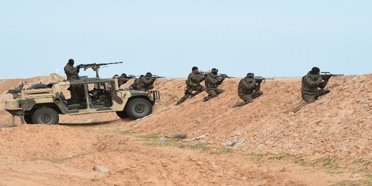وحدات الجيش الوطني تطلق النار على سيارة ليبية اجتازت الحدود التونسية